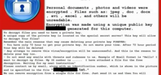 Master Keys for Crysis ransomware released on a forum