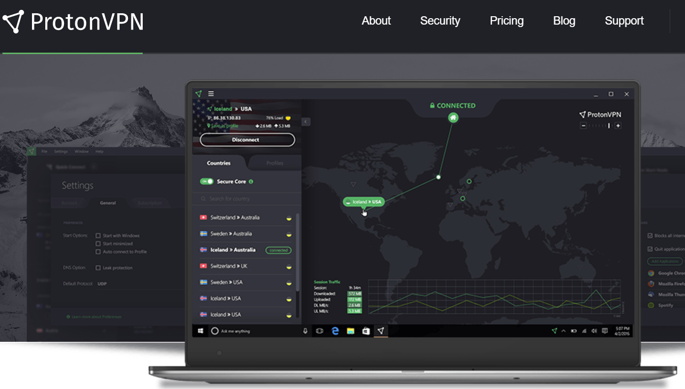 Three years ago ProtonMail was launched. Today, it is launching ProtonVPN