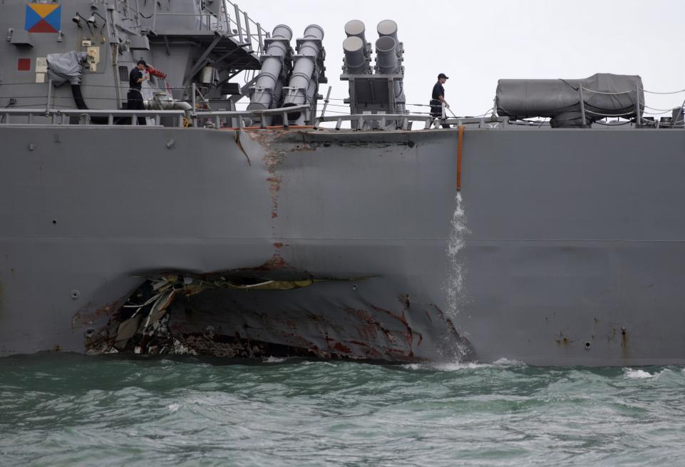 USS John S McCain incident, some experts speculate it was a cyber attack