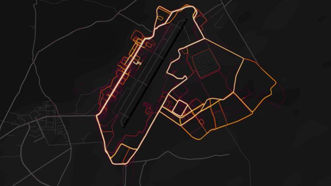 Military personnel improperly used Fitness Strava Tracker exposed their bases