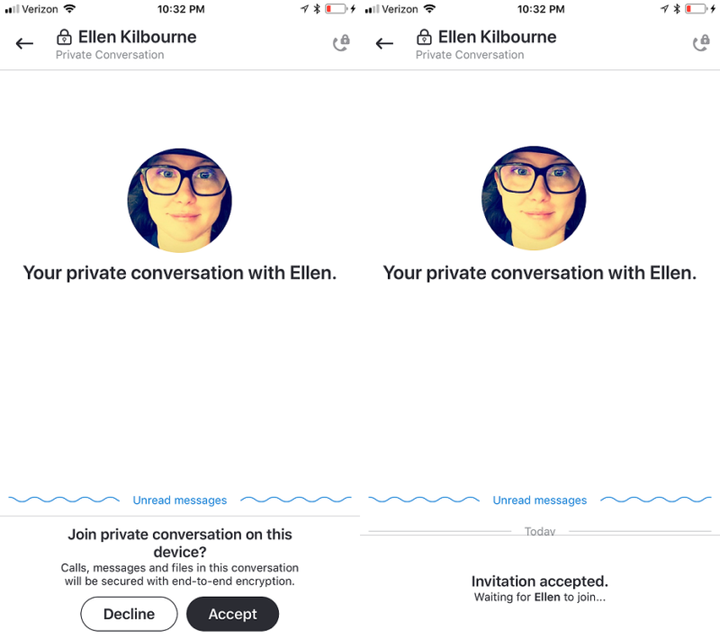 Never too late, Skype supports end-to-end encryption for new Private Conversations feature