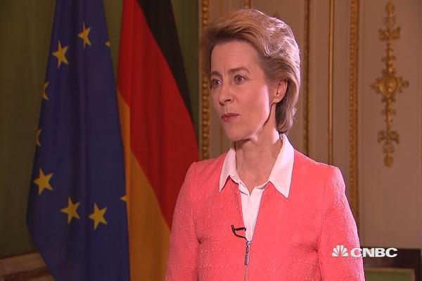 Germany's defense minister: Cyber security is going to be the main focus of this decade.