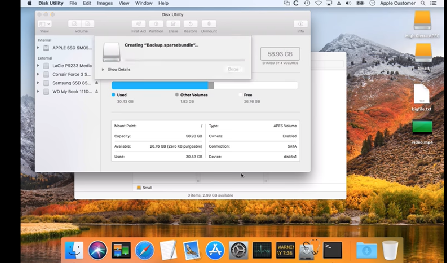 AnAPFS Filesystem flaw could lead macOS losingdataunder certain conditions