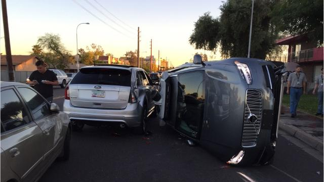 Uber Self-Driving Car struck and killed a woman in Tempe, Arizona