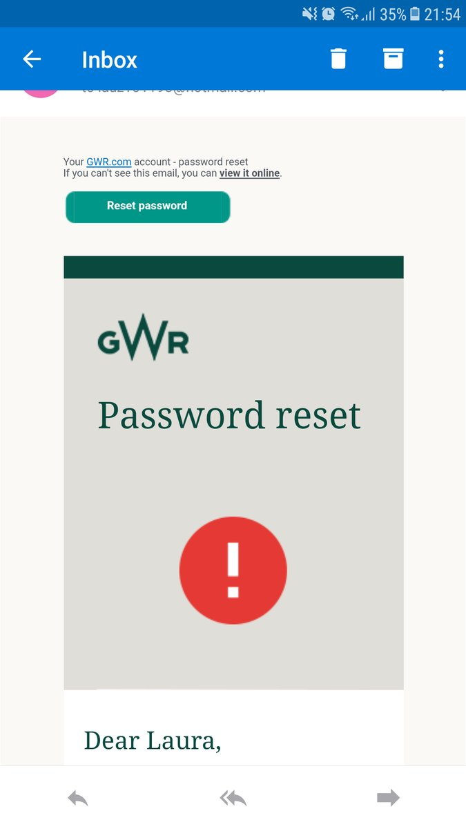 Great Western Railway asks users to reset passwords due to a security breach
