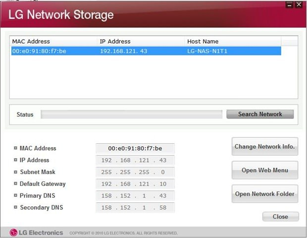 A flaw could allow easy hack of LG Network-attached storage devices