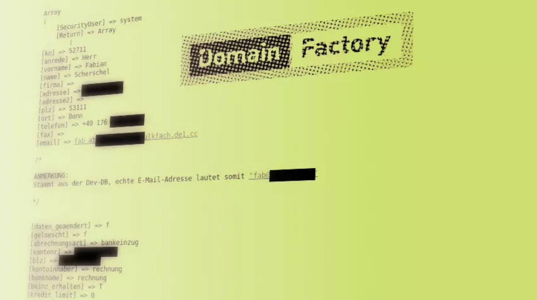 GoDaddy-owned hosting company Domainfactory hacked