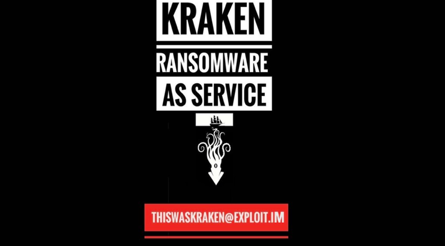 Kraken ransomware 2.0 is available through the RaaS model