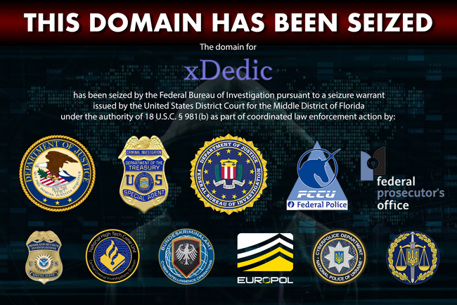 Authorities shut down XDEDIC marketplace in an international operation