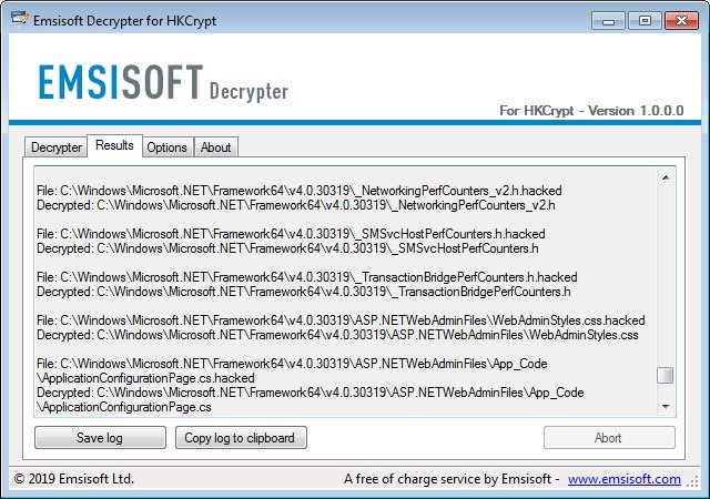 How to get back files encrypted by the Hacked Ransomware for free