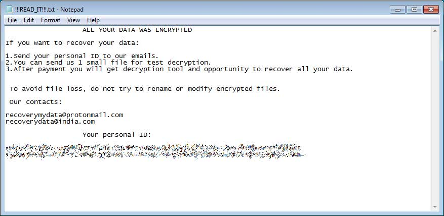 Victims of Planetary Ransomware can decrypt their files for free