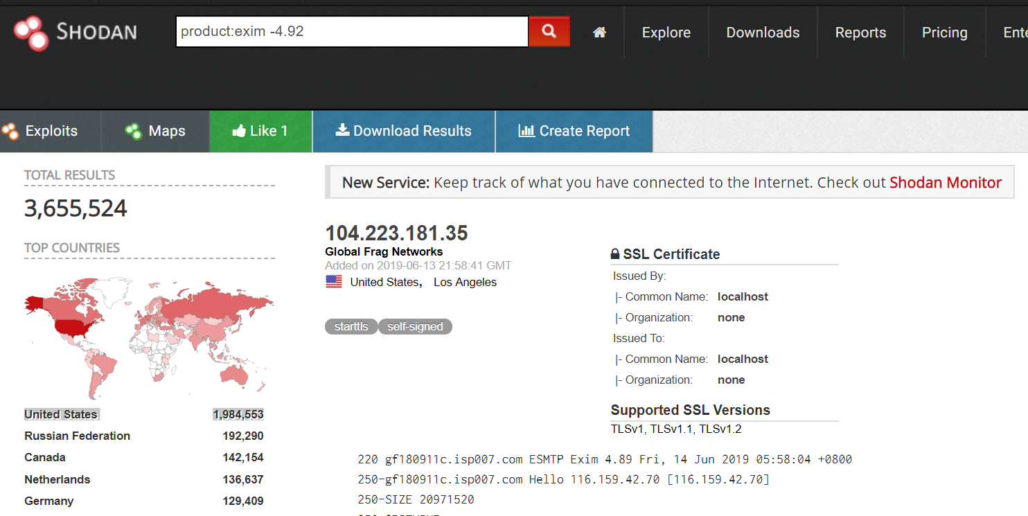 Linux worm spreading via Exim servers hit Azure customers