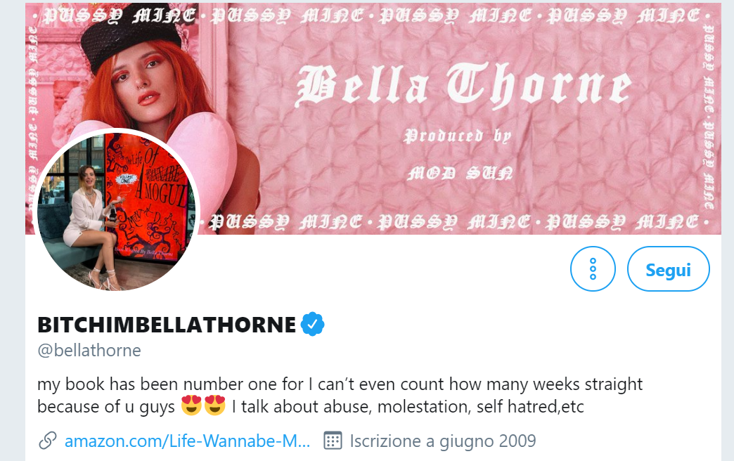 Bella Thorne published her private nude photos before a hacker that was threatening her
