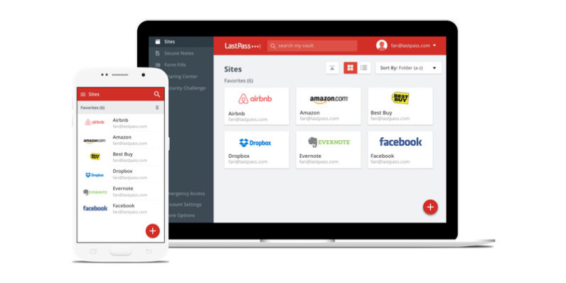 A flaw in LastPass password manager leaks credentials from previous site