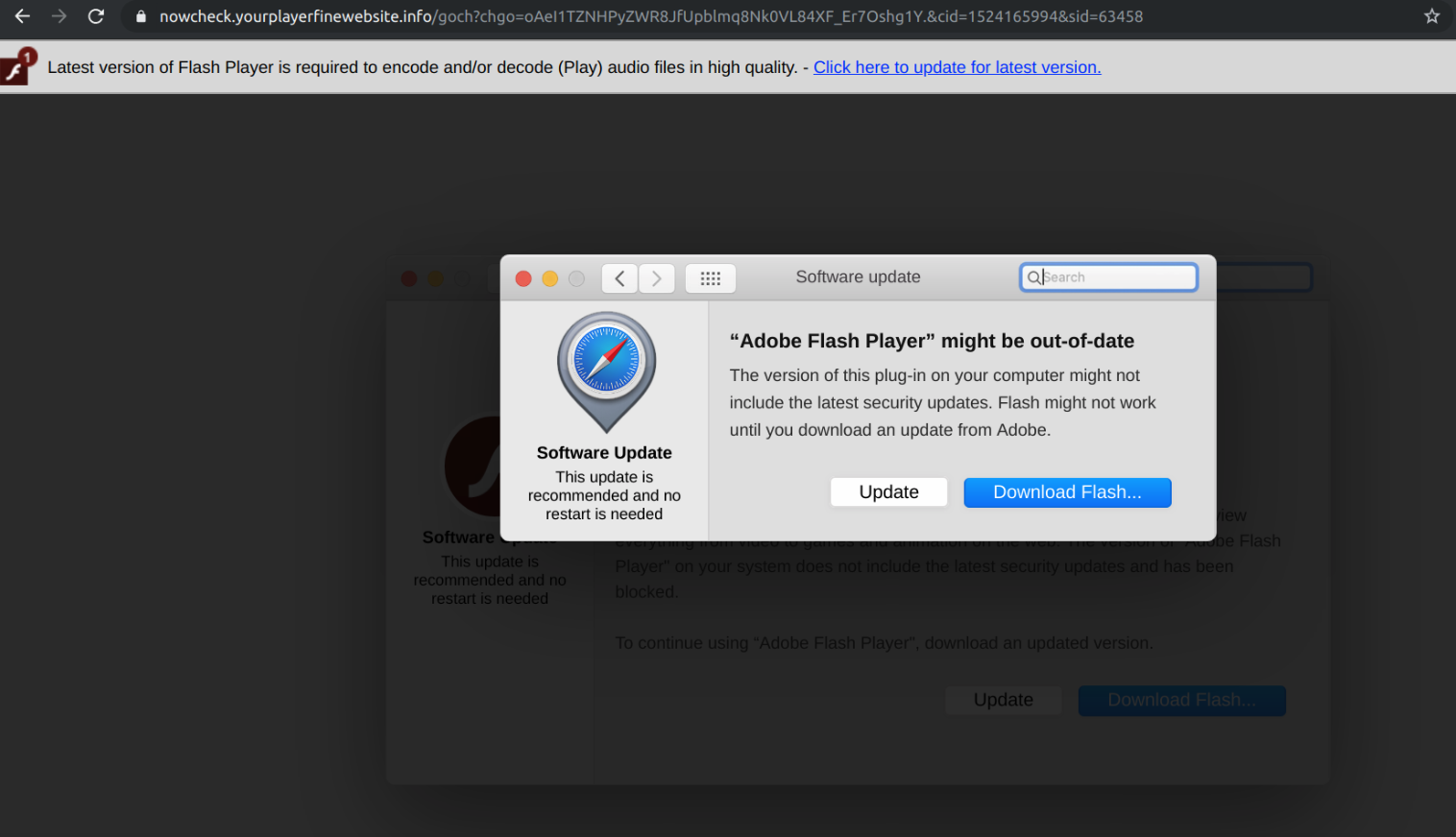 A new Mac malware dubbed Tarmac has been distributed via malvertising campaigns
