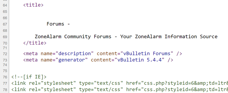 ZoneAlarm forum site hack exposed data of thousands of users