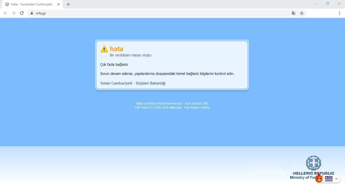 Turkish Hackers hit Greek Government websites and local stock exchange