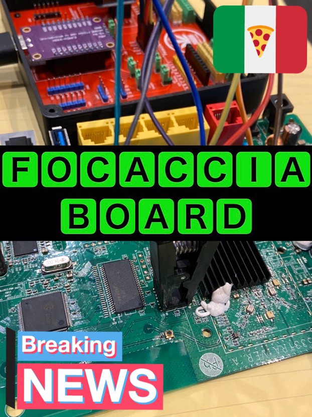 Hacking IoT devices with Focaccia-Board: A Multipurpose Breakout Board to hack hardware in a clean and easy way!