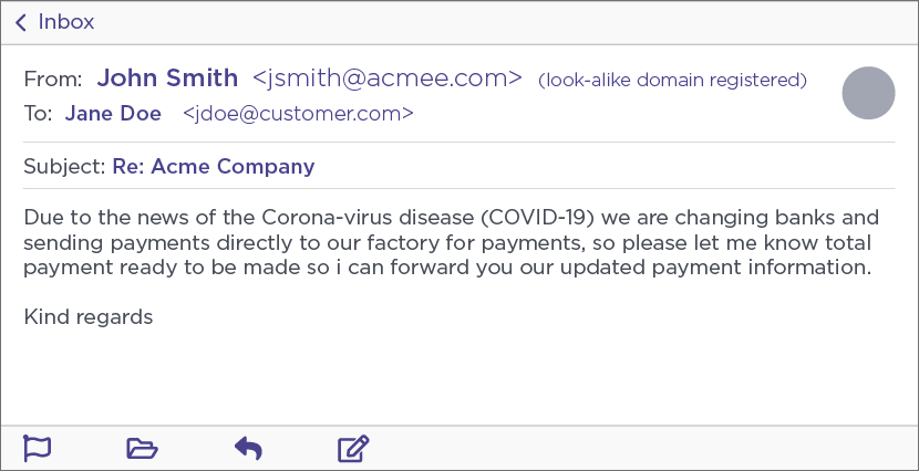 Noooo, now Ancient Tortoise BEC scammers are launching Coronavirus-Themed attacks