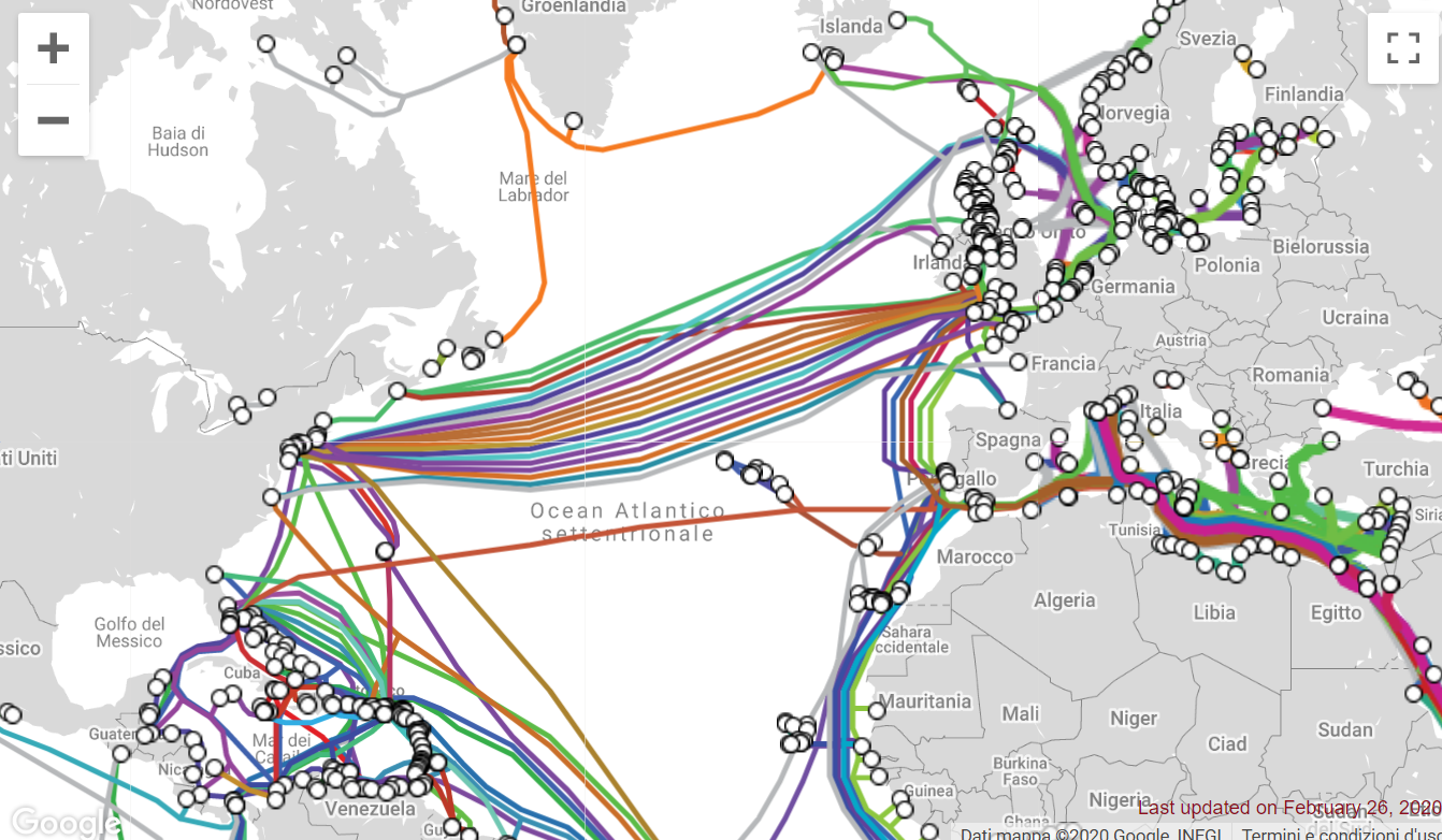 Russian spies are attempting to tap transatlantic undersea cables