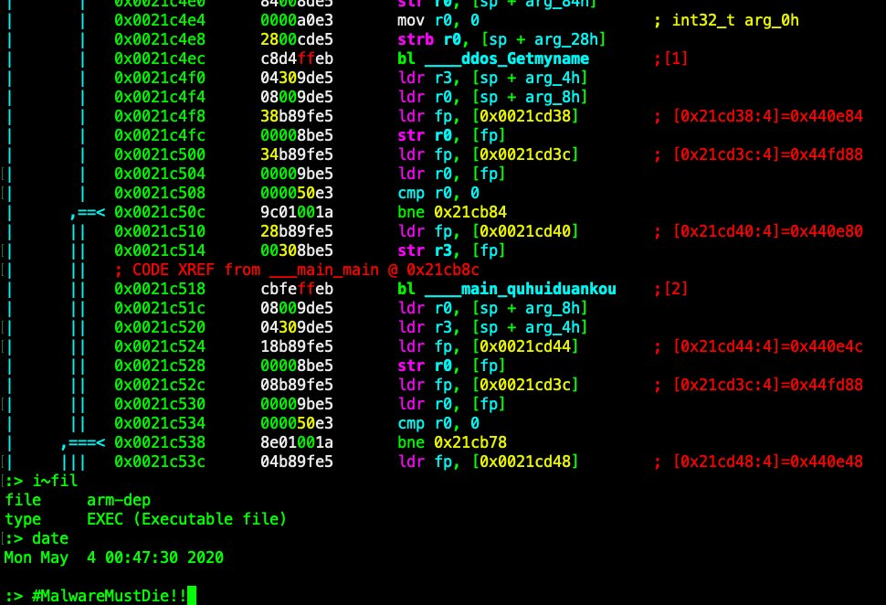 Kaiji, a new Linux malware targets IoT devices in the wild