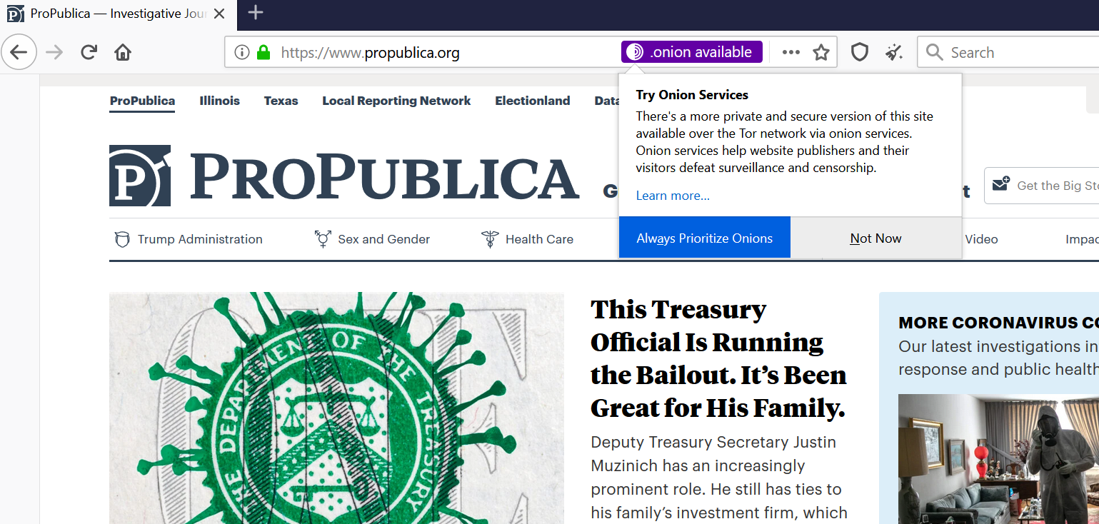 Tor Browser 9.5 is available for download, with new interesting features