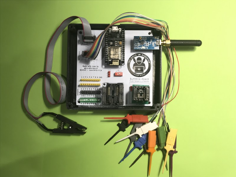 Hacking IoT & RF Devices with BürtleinaBoard