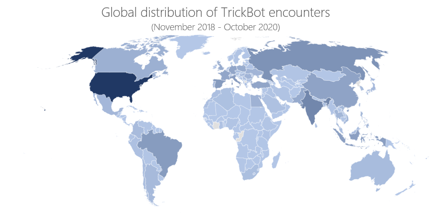 Microsoft took down 120 of 128 Trickbot servers in recent takedown