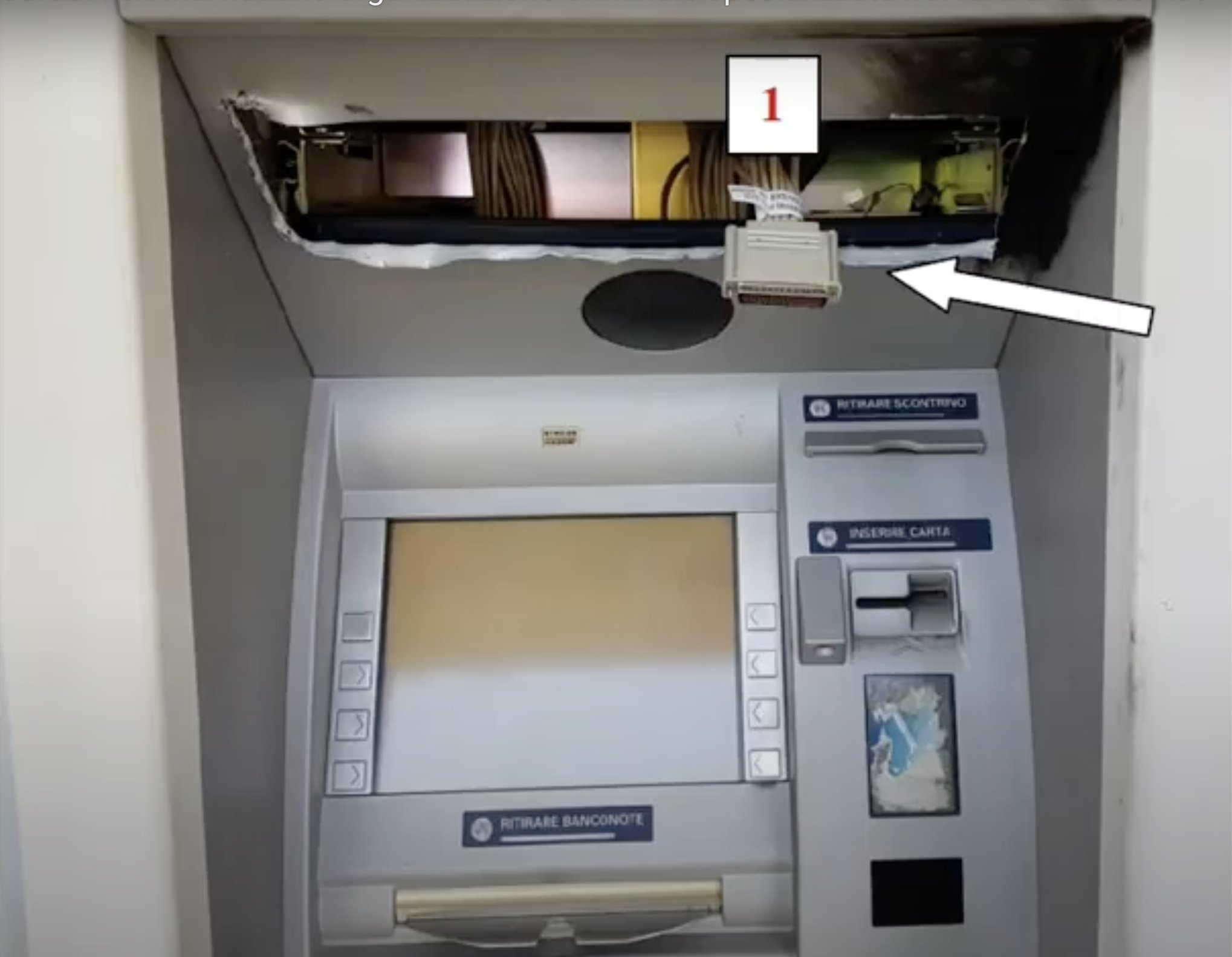 Crooks stole 800,000€ from ATMs in Italy with Black Box attack