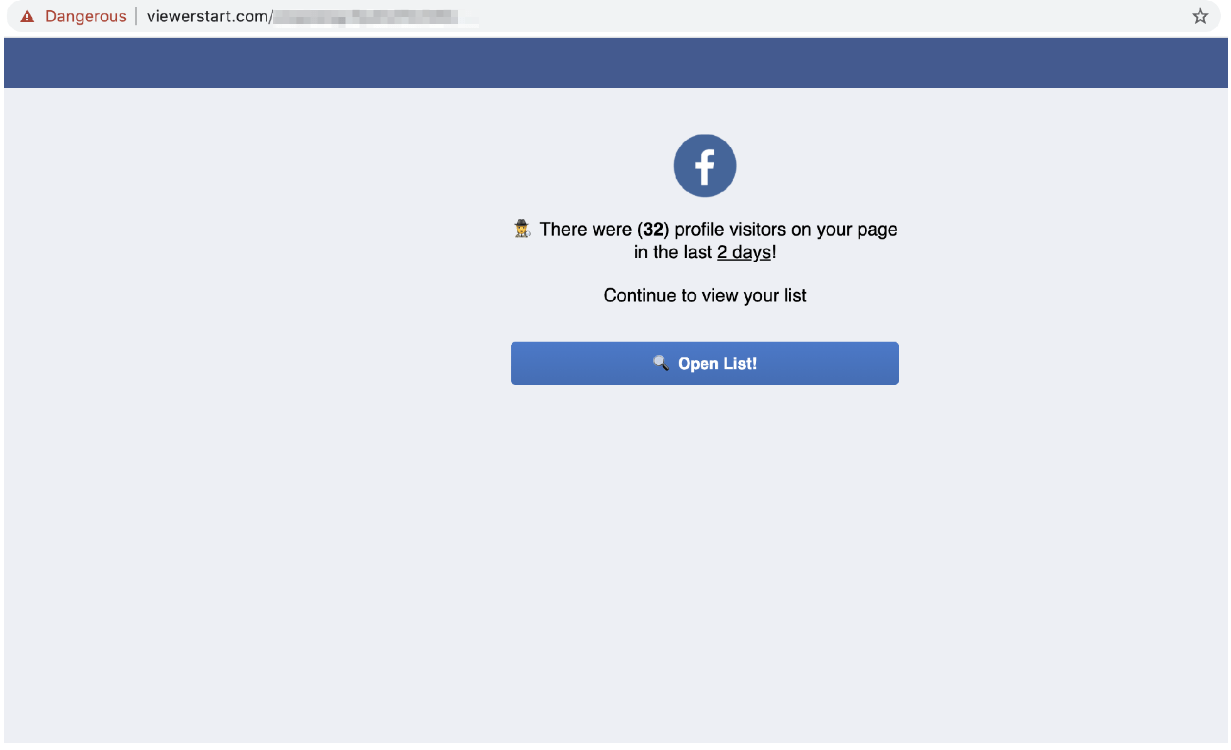 Unprotected database exposed a scam targeting 100K+ Facebook accounts