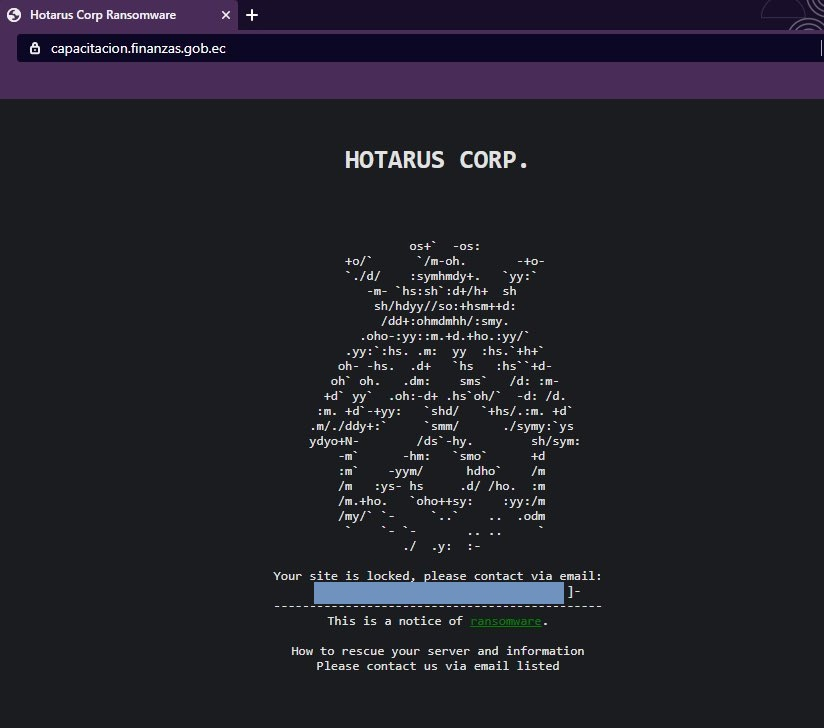 Hotarus Corp gang hacked Ecuador's Ministry of Finance and Banco Pichincha