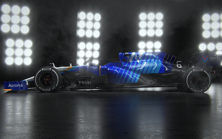 The launch of Williams new FW43B car ruined by hackers