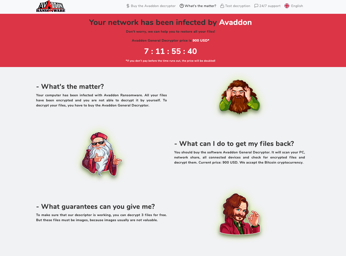 Evolution and rise of the Avaddon Ransomware-as-a-Service