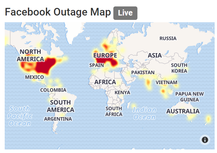 Facebook, WhatsApp, and Instagram are down worldwide, it's panic online